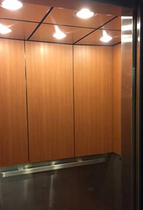 vinyl films for elevators