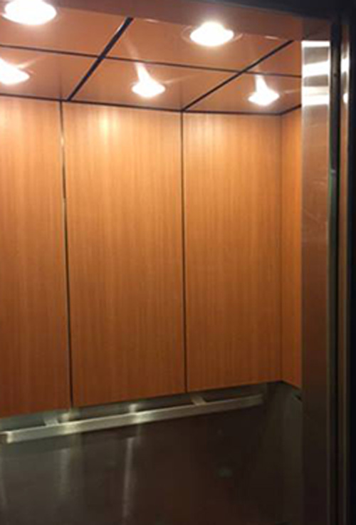 vinyl films for elevators
