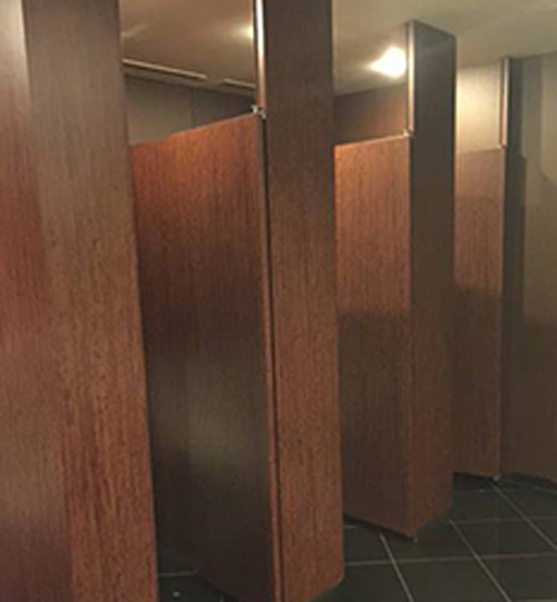 vinyl films for restrooms