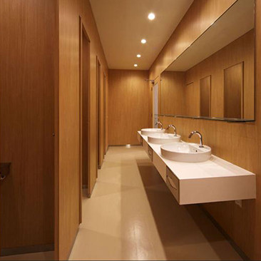restroom applications for architectural vinyl films