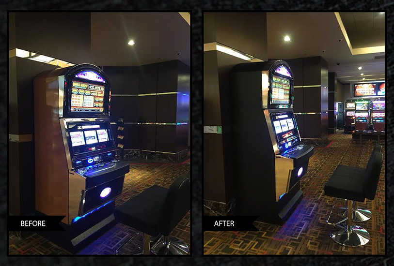 slot machine refinishing